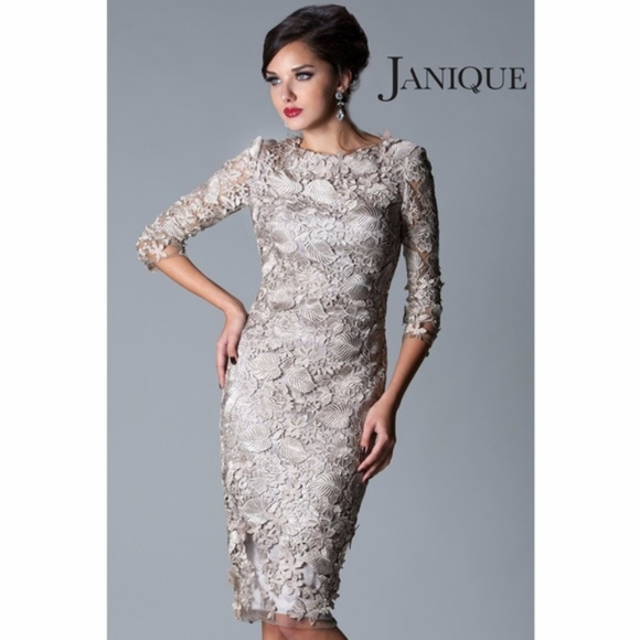 Janique Dresses | Nwt Pewter Evening Wedding Mob | Poshmark